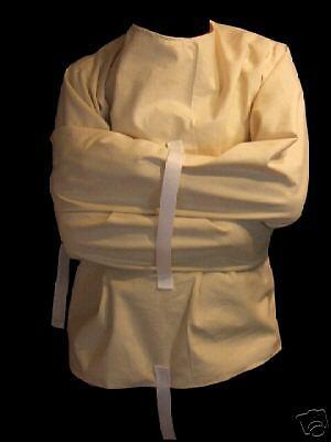 --New halloween costume Straight Jacket Medium  - Straight Jacket Womens Halloween Costume