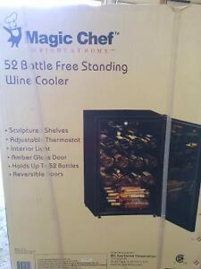 New Magig Chef 52 bottle wine cooler