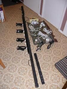 Rail électrique avec lampes - pour expositions Gatineau Ottawa / Gatineau Area image 1