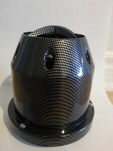 air intake filter with heat shield