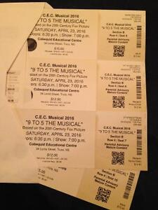 '9 to 5 THE MUSICAL' tickets