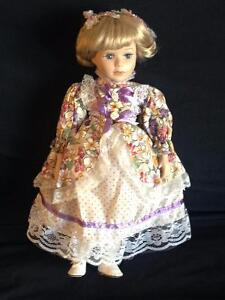 Porcelain Dolls with Stands in Mint Condition Kitchener / Waterloo Kitchener Area image 7