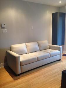 MOVING SALE! Natuzzi Editions Italian Leather Couch