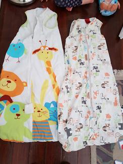 GRO Sleeping bags 2.5tog and 1tog 18mths+