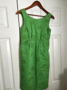 Lined dress with pockets. Size XS