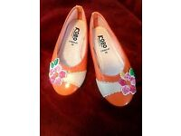 girls shoes brand new never been used excellent condition size 28uk10
