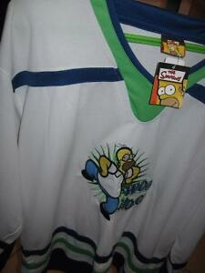 The Simpsons Hockey Jersey- Never worn Windsor Region Ontario image 5