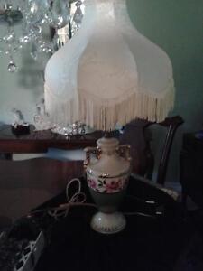 Beautiful China Lamp...Awesome colours