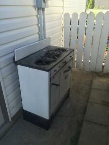 Old canning Stove