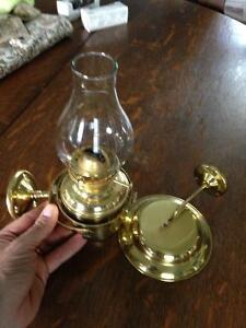 Brass oil lamps (gimballed)