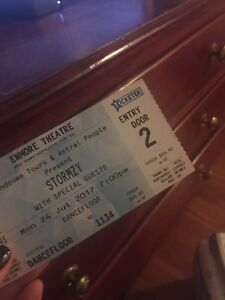 Stormzy Ticket Mon 24 July Enmore Theatre Sydney O'Connor North Canberra Preview
