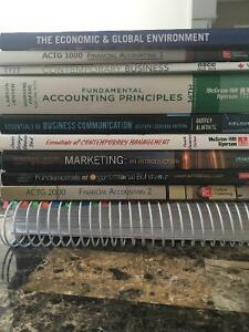 NSCC First Year Business Textbooks