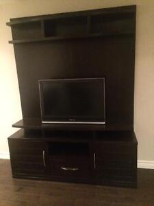 ENTERTAINMENT UNIT WITH TV INCLUDED