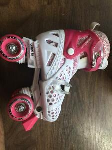 3-6 Yrs Girls Roller Skates