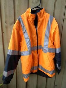 HI VIS WORKWEAR JACKET SIZE LARGE NEW WITH NO TAGS Pimpama Gold Coast North Preview