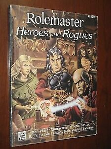 RPG Heroes and Rogues (Rolemaster I.C.E.) No.1420