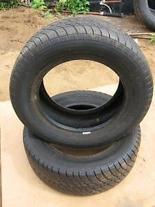 2 Good used Canada tire 215/60r15 tires.reference 71
