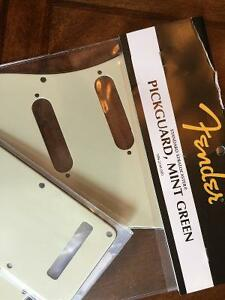 Genuine Fender Strat Pickguard w/ Backpkate - New