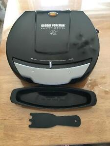 George Foreman Nonstick Grill with Variable Temperature Control