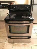 Stainless Steel Kenmore Oven