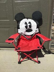 Kid's Mickey Mouse Camping Chair