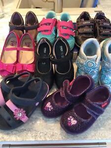 Lot de souliers fille grandeur 10