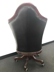 CHESTERFIELD EXECUTIVE SWIVEL CHAIR- Purchased new 7 days ago
