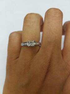 18K White gold Canadian Diamond Princess Cut Engagement ring Oakville / Halton Region Toronto (GTA) image 1