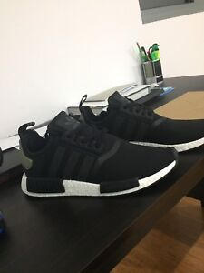 Adidas NMD R1 Black Cargo sz 10 Cecil Hills Liverpool Area Preview