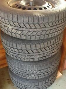 4 Winter Tires on Rims, $450 ono