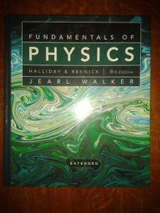 Fundamentals of Physics by Halliday 9th Edition Windsor Region Ontario image 1