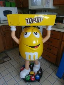 M&M candy stand