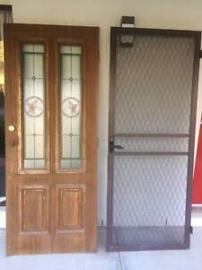 Entrance door and screen door Logan Village Logan Area Preview