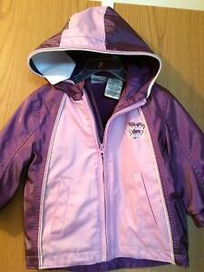 Purple fall coat size 2