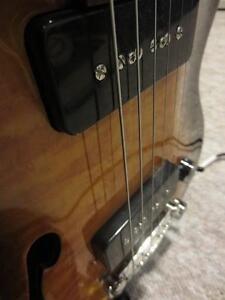 INDIE electric guitar P90 pickups semi hollow NICE one REDUCED Gatineau Ottawa / Gatineau Area image 5