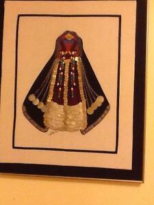 Badouin Bride. Hand work done in Egypt.
