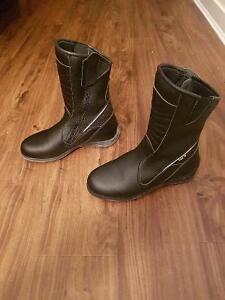 Brand New Woman Motorcycle Boots - SIDI Jasmine Rain