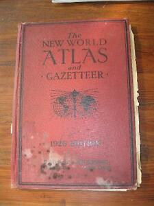 1926 New World Atlas & others Cornwall Ontario image 1