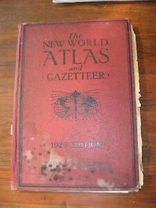 1926 New World Atlas & others