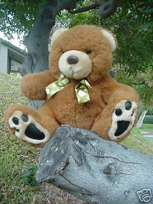- Lovable Huggable Limited Edition #00 Plush Brown Bear