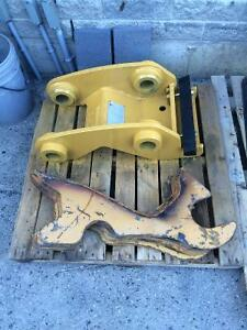 Quick attach for caterpillar 312 to 314 with plates