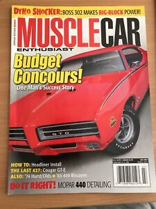 Muscle car enthusiast 07/2007 Isaacs Woden Valley Preview