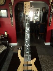 Raven West Guitars RWG 7-String Bass