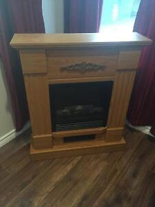 Electric Fireplace - Good Condition