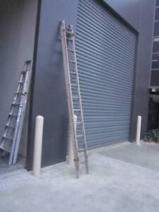TIMBER WOODEN EXTENSION LADDER 3.6 - 5.2mt APPROX. Dandenong South Greater Dandenong Preview