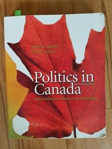 Politics in Canada Textbook