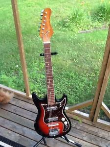 1960s Teisco Electric Guitar, made in Japan