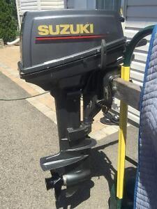 9.9 hp 2 temps Suzuki