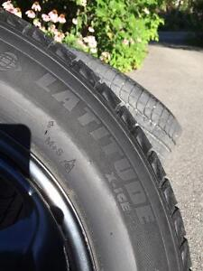 Set of 245/65R17 Winter Tires with tpms on Black Rims Gatineau Ottawa / Gatineau Area image 3