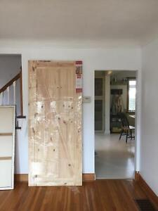 Beautiful sliding track door (track and hardware included)